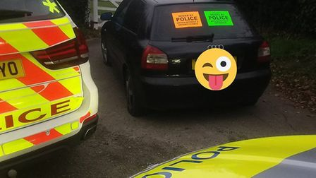 A driver was arrested on suspicion of drug driving after being stopped by police. PIC: Norfolk and S