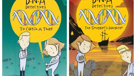 Norfolk scientist turn children's author Amanda Hartley's The DNA Detectives books that have helped