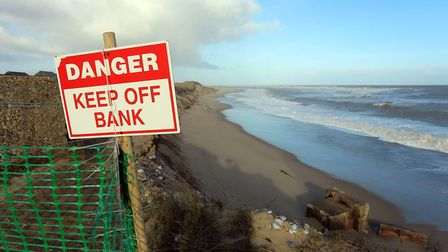 Erosion and safety are a huge issue at Winterton where people flock to enjoy nature Picture: Wintert