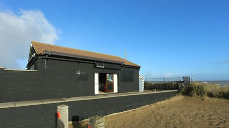 The Dunes cafe in Winterton is finding itself every closer to oblivion Picture: WintertonOnSea.co.uk