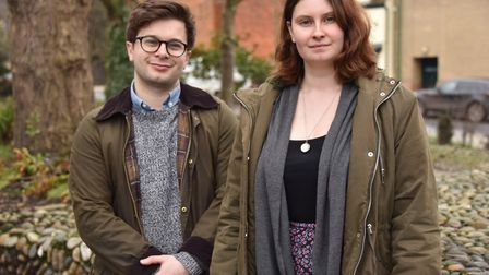 Norwich theatre company Amplify perform a double bill of plays to raise awareness of male suicide.Wi