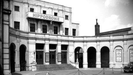 The Hippodrome on St Giles shortly before it was demolished to make way for a multi-storey car park