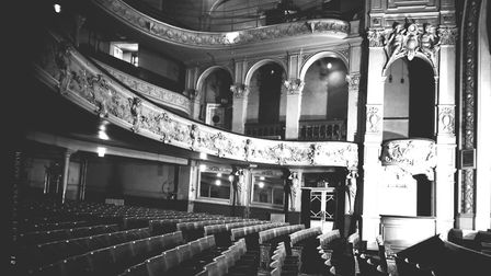 The last interior photograph of the Hippodrome, St. Giles' Street, Norwich. Picture: Supplied