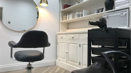 The newly refurbished and re-branded eleve11 salon in Brooke which was owned by Emma Joyce's late fa