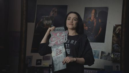 Florence Pugh stars as Paige in FIGHTING WITH MY FAMILY, directed by Stephen Merchant, a Metro Goldw