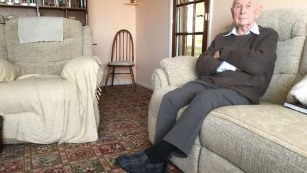 Residents in Worlingham have told of their neighbour's shocking rat infestation. Charles Cook, 88, w