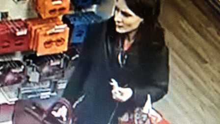 Police would like to speak to this women in connection with a assault in King's Lynn. Photo: Norfolk