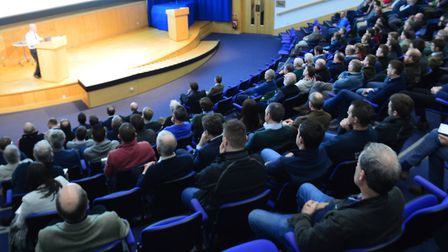 Frontier Agriculture's 3D Thinking seminar at the John Innes Centre in Norwich. Picture: Chris Hill