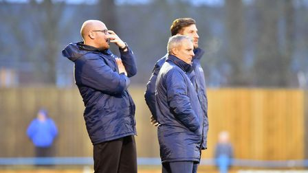 Lowestoft Town boss Jamie Godbold would be satisfied if his side finished one place above the relega