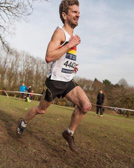 Chris Merrylees has taken charge of the men's and women's county cross country teams alongside Domin