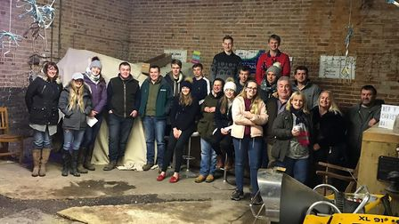 Diss Young Farmers' Club has won the Daniels Charity Cup for raising the most money among Norfolk's