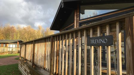 Trevino lodge at Hoseasons The Manor Resort in Lincolnshire. Picture: Bethany Whymark