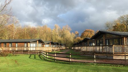 The luxury self-catering lodges at Hoseasons The Manor Resort in Lincolnshire. Picture: Bethany Whym