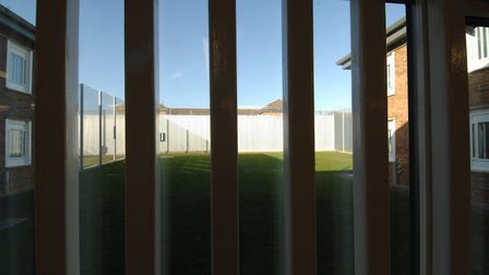 HMP Bure, based on the former RAF Coltishall. Picture: Ben Kendall