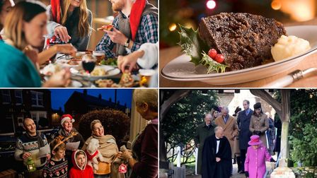 Laws from days gone by banned Christmas dinner, Christmas pudding, carol singing and walking to chur