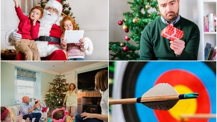 Santa, Christmas presents and charades all fall foul of Christmas laws from the past, but archery is