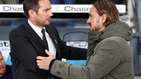 Frank Lampard expects another tough test from Daniel Farke's Canaries Picture: Paul Chesterton/Focus