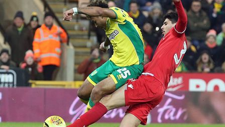Onel Hernandez starts for the Canaries against Derby Picture: Paul Chesterton/Focus Images