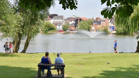Diss Mere is among the attractions that appeal to newcomers looking to buy a home. Picture: Sonya Du