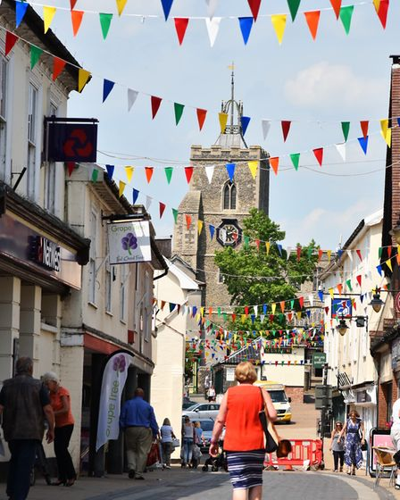 Diss offers the appeal of a rural market town but with good transport links. Picture: Sonya Duncan