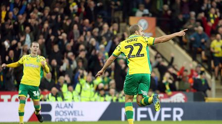 Teemu Pukki earned a brace for Norwich City against Derby - but it was at the other end once again t