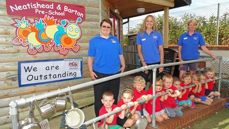 Neatishead and Barton Pre-school was one of the education providers in Norfolk to be rated outstandi