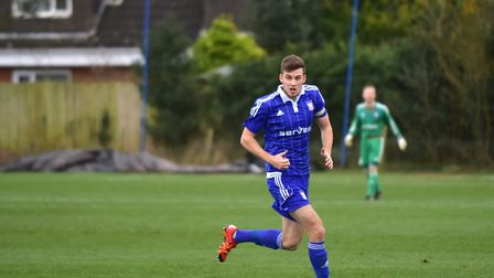 Former Ipswich Town defender Joe Robinson can't wait to get started at King's Lynn Town. Picture: Sa