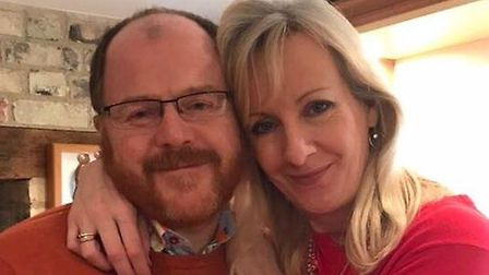 George Freeman and Fiona Laird are engaged. Picture: supplied by George Freeman