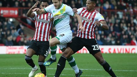 Just like Teemu Pukki not getting a penalty for being brough down at Brentford, Norwich City will be