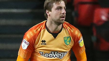 Tim Krul had a vital role in the 1-1 draw at Brentford Picture: Paul Chesterton/Focus Images Ltd