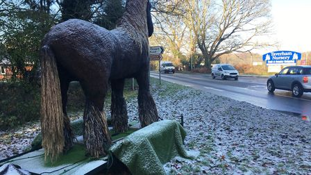 War Horse has been removed from Norfolk's roads. Picture: ANDREW STONE
