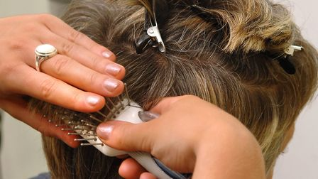Hairdressers are to get training to spot signs of domestic abuse. Picture: James Bass
