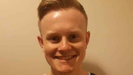 Lewis Wright is running the gruelling 26.2 mile marathon in May to raise much-needed funds for MIND.