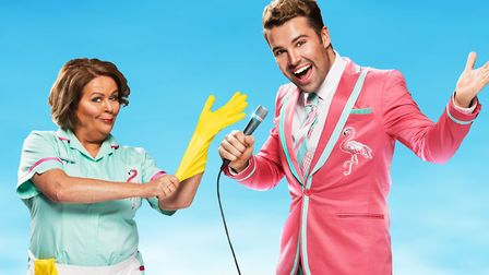 Kate Robbins is appearing in Club Tropicana at Norwich Theatre Royal (C) submitted