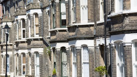 Houses in Cromer; house prices rose in the region in the three months to December, states a new repo