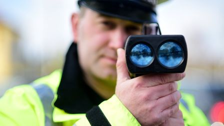 Norfolk police will be targeting speeding drivers as part of a three-week national campaign. Picture