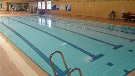 Bungay Swimming Pool has reopened after a heating issue kept it closed over the festive period. Pict
