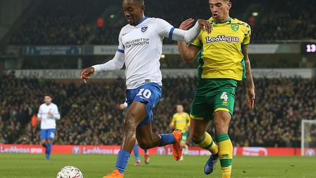 Ben Godfrey keeps Jamal Lowe busy as Norwich City see their FA Cup involvement end early, with an in