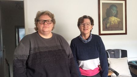 Kelly and Debbie have only been able to live in the upstairs of their home on London Street, Swaffha