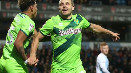 Teemu Pukki was the match-winner for Norwich City yet again at Blackburn Picture: Paul Chesterton/Fo