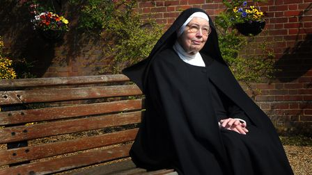 Sister Wendy Beckett became an unlikely television star. Phot: Sonya Duncan