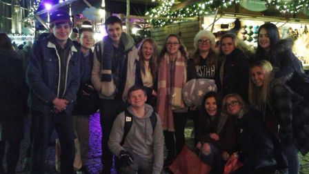Key Stage 4 students from Iceni Academy visited the Christmas Markets in Germany. Picture: Iceni Aca