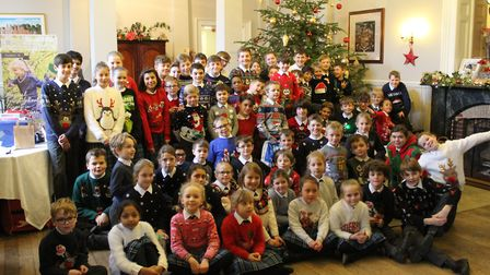 Langley Preparatory School at Taverham Hall's Year 8 Mentors had a special gathering with their Year