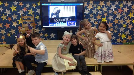 Toftwood Infant School's Year 2 children performed a modern version of Cinderella. Picture: Toftwood