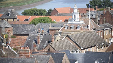King's Lynn, where two men were assaulted on Christmas Day. Picture: Ian Burt