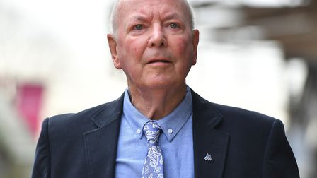 """Former youth football coach and scout Michael """"Kit"""" Carson at Cambridge Magistrates' Court. PIC: Joe"""