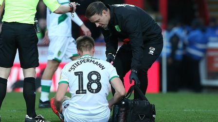City head coach Daniel Farke will provide a fitness update on Marco Stiepermann on Friday. Picture: