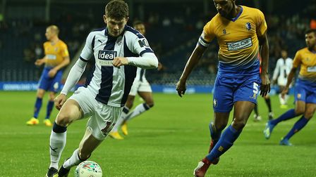 Oliver Burke has been out of favour at West Brom this season. Picture: Focus Images
