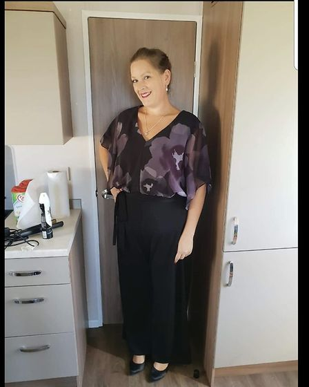 Rachel Read, from Gillingham, has lost 6st 8lb. Photo: Beccles AM Slimming Group.