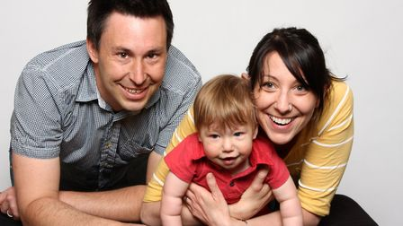 Brad and Debbie McLean with their son, Stanley. Photo: Submitted
